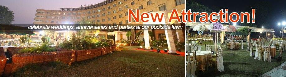 Celebrate at the Poolside Lawn
